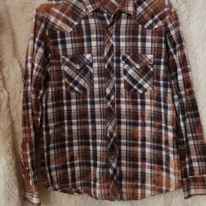 Age of wisdom flannel shirt
